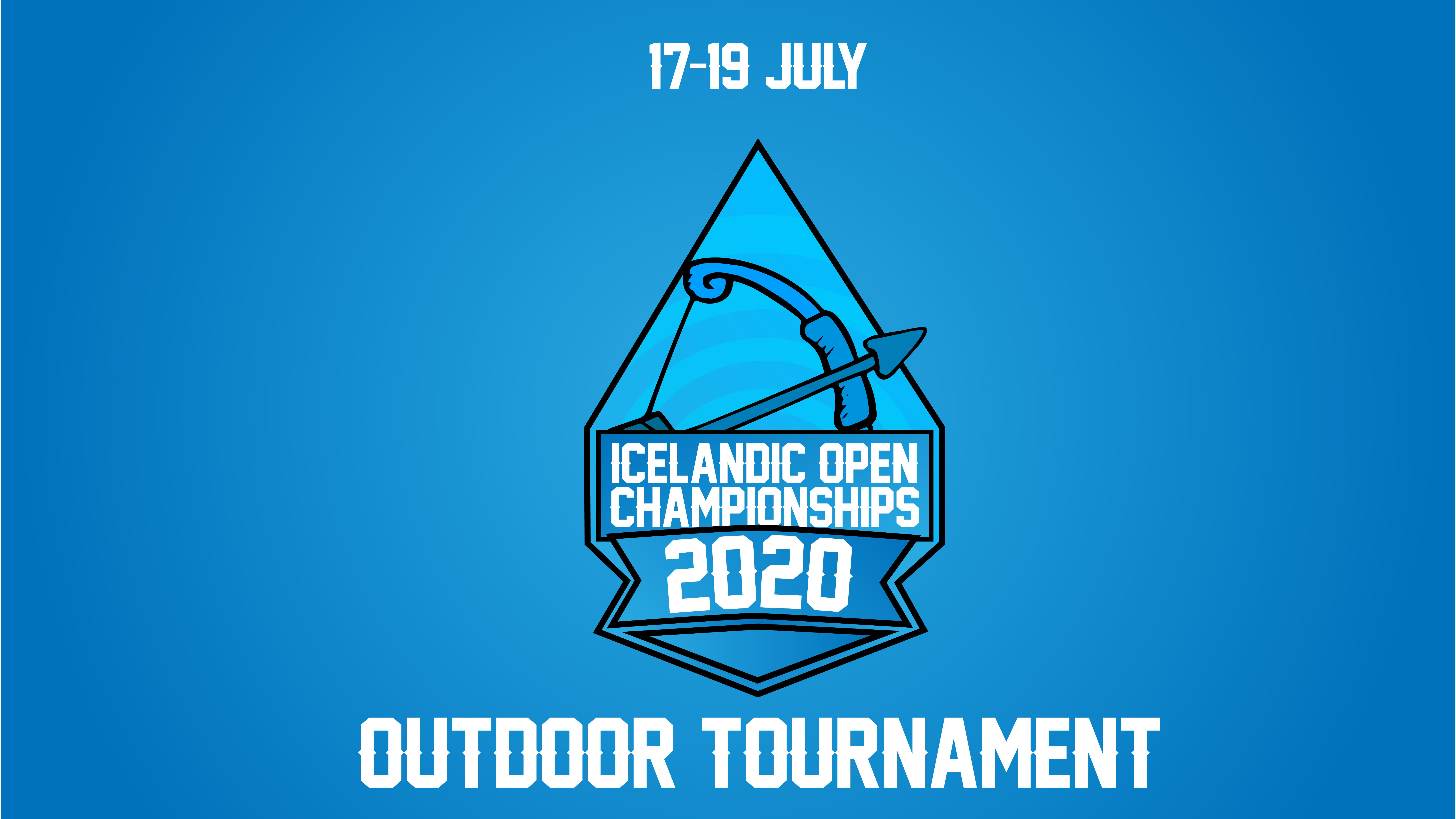 Íslandsmeistaramót 2020 17-19 Júlí