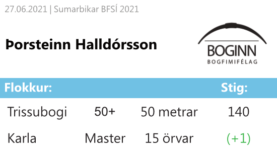 27062021Þorsteinn50+15